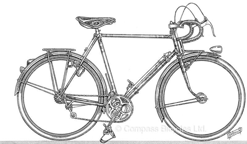 Line Drawing Bike : Daniel rebour off the beaten path