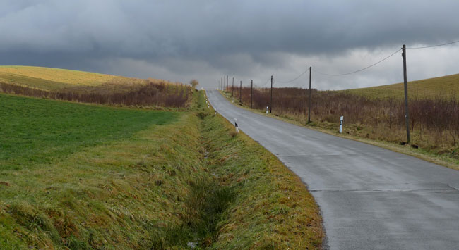 road_hill_germany