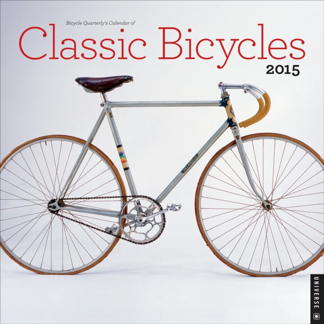 2015 Calendar of Classic Bicycles