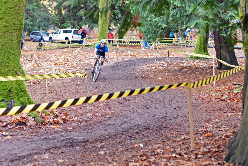 Photo: Last weekend's MFG race in Seattle's Woodland Park was the best cyclocross course I've ridden.