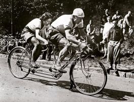 Image result for 1950s pyrenees tandem cycling
