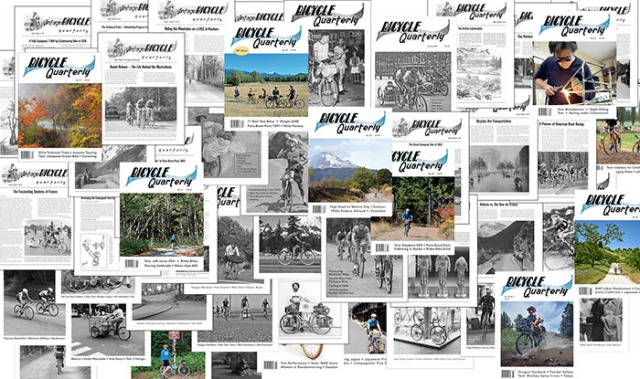 Bicycle Quarterly Back Issues Back in Stock | Off The Beaten