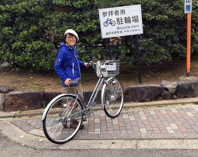 City Cycling In Kyoto Or How To Make A Fully Equipped Bike For